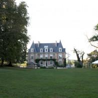 Château Malvau - Façade et jardin